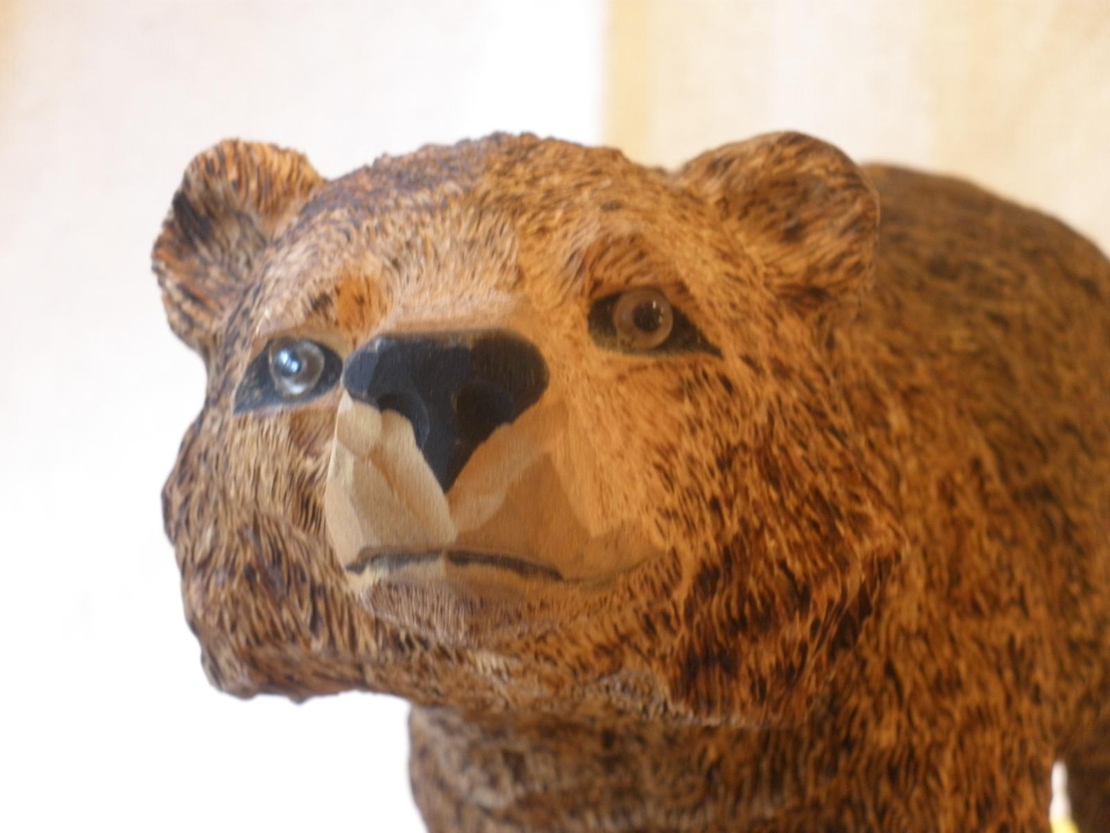 Bear Woodcarving Pattern